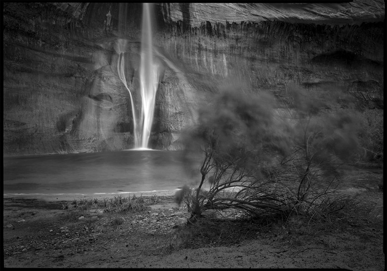 Escalante Falls and Canyon, Utah 1981 © David Ulrich