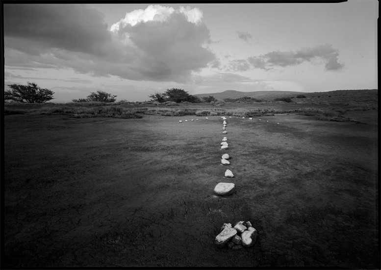 Target Arrow, Impact Zone, Kaho'olawe, HI 1994 © David Ulrich