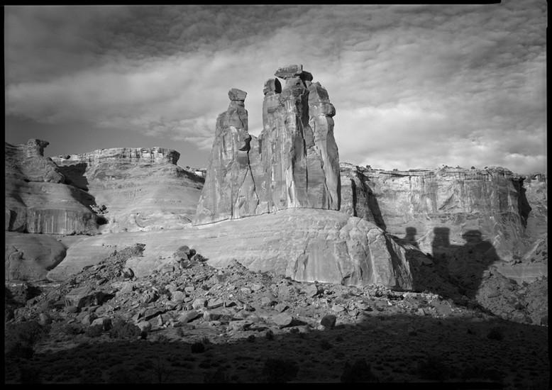Three Sisters, Utah, 1988 © David Ulrich