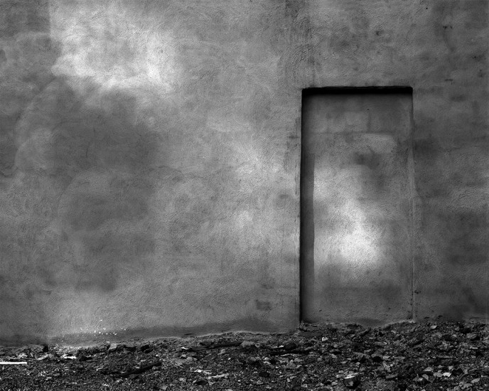 Wall, North End, Boston, MA 1976 © David Ulrich