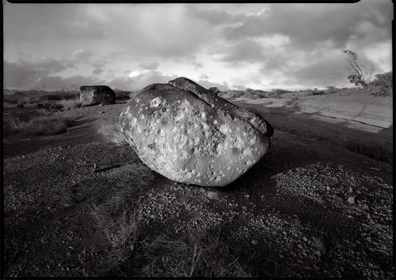 Strafed Rock, Kaho'olawe, HI 1994 © David Ulrich