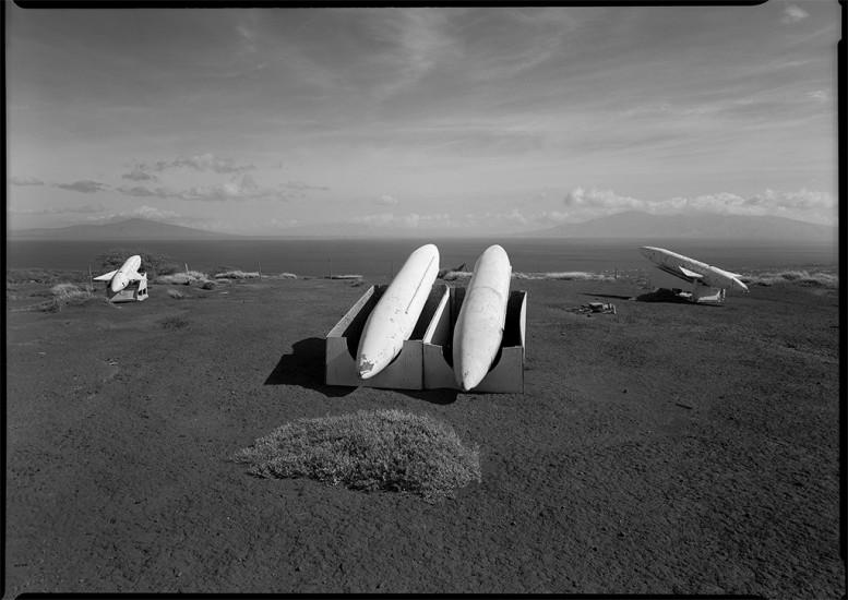 Imitation Silkworm Missiles, Target Zone, Kaho'olawe, HI 1994 © David Ulrich