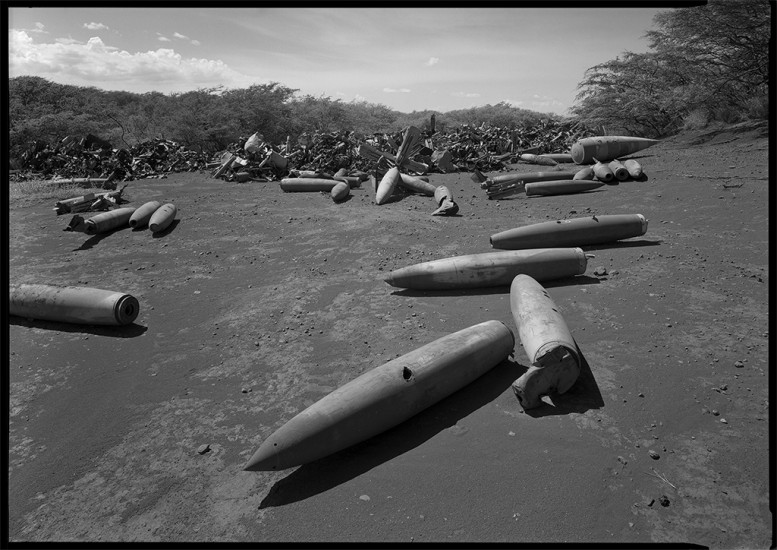 Unexploded Ordnance, Kaho'olawe HI 1993 © David Ulrich