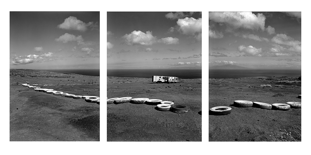 Impact Zone and Target Vehicle, Kaho'olawe, HI 1996 © David Ulrich